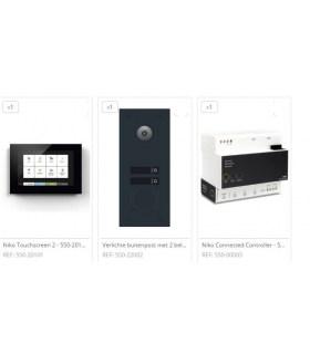 Home Control Videofoon pakket 2