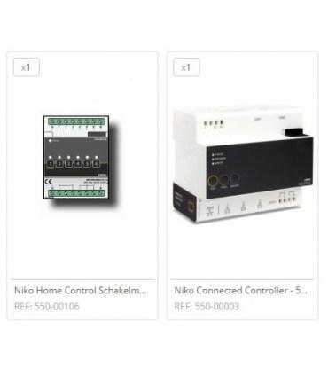 Niko Home Control Voordeelbundel 1