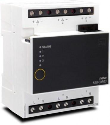 Niko Home Control Meetmodule elektriciteit (3 kanalen) - 550-00803