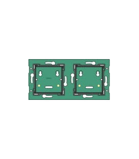 Tweevoudige horizontale muurprint, centerafstand 71mm