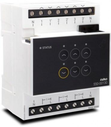 Niko Home Control Motor module - 550-00130