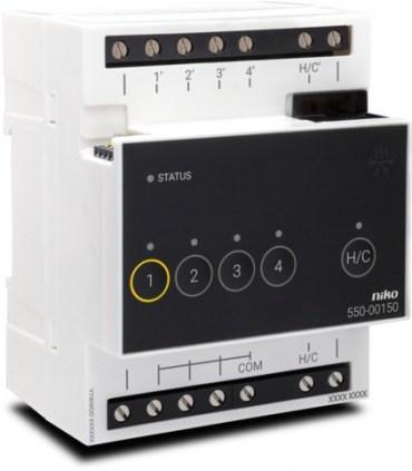 Niko Home Control Verwarmingsmodule of Koelingsmodule - 550-00150