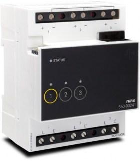 Niko Home Control Analogue control module 1-10V - 550-00241