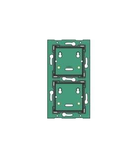 Tweevoudige verticale muurprint, centerafstand 60mm